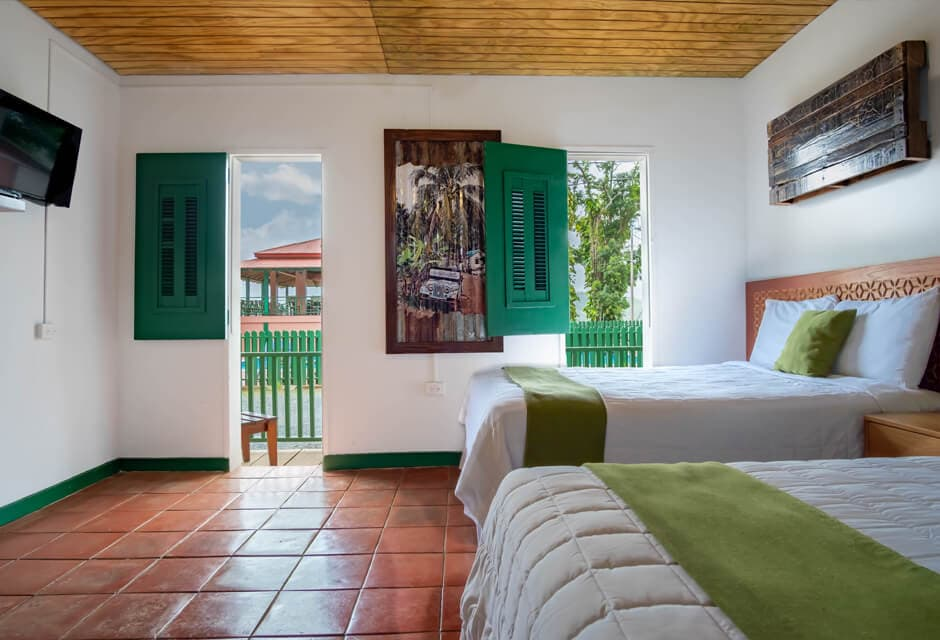 Room at Hacienda Juanita