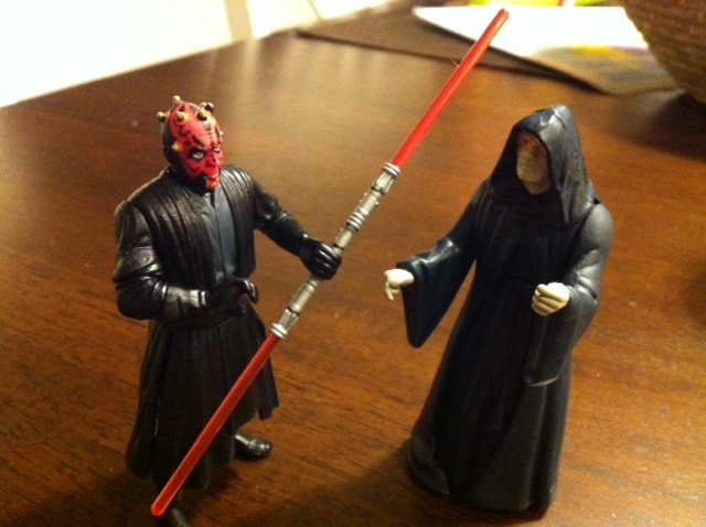 maul vs sidious