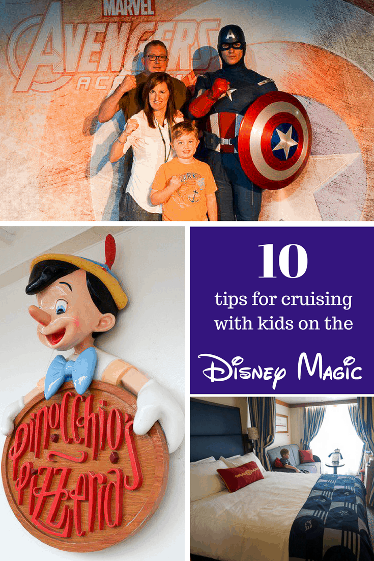 10 tips for cruising with kids on the Disney Magic