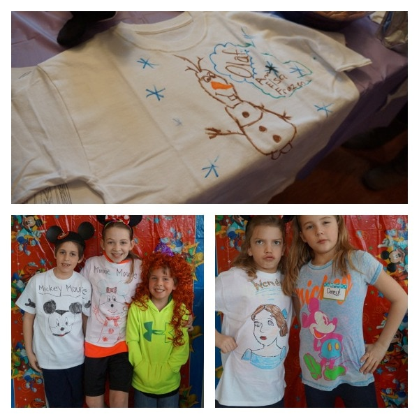 Disney t-shirts from Hanes