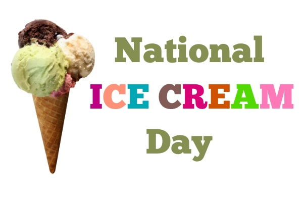 Have a Ball on National Ice Cream Day! • All Things Fadra