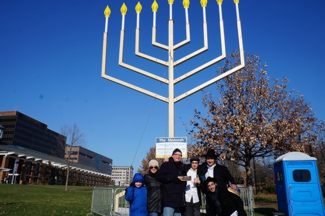 Philly menorah