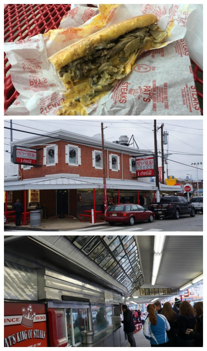 Pats King of Steaks
