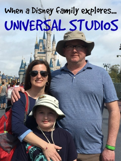 Disney family at UNIVERSAL