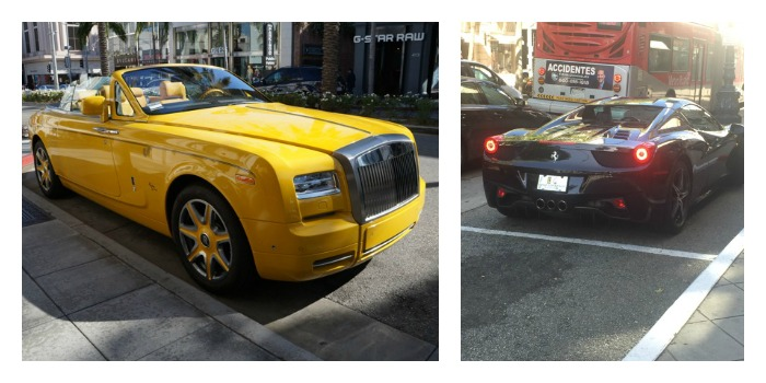 Cars in Beverly Hills