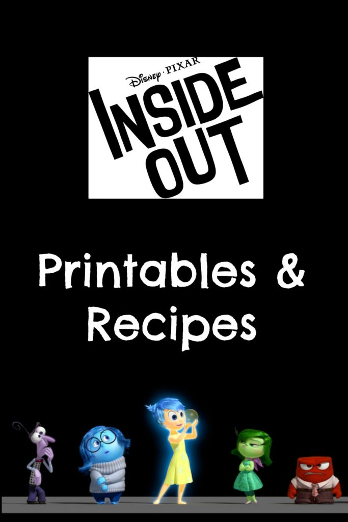 Inside Out Printables & Recipes
