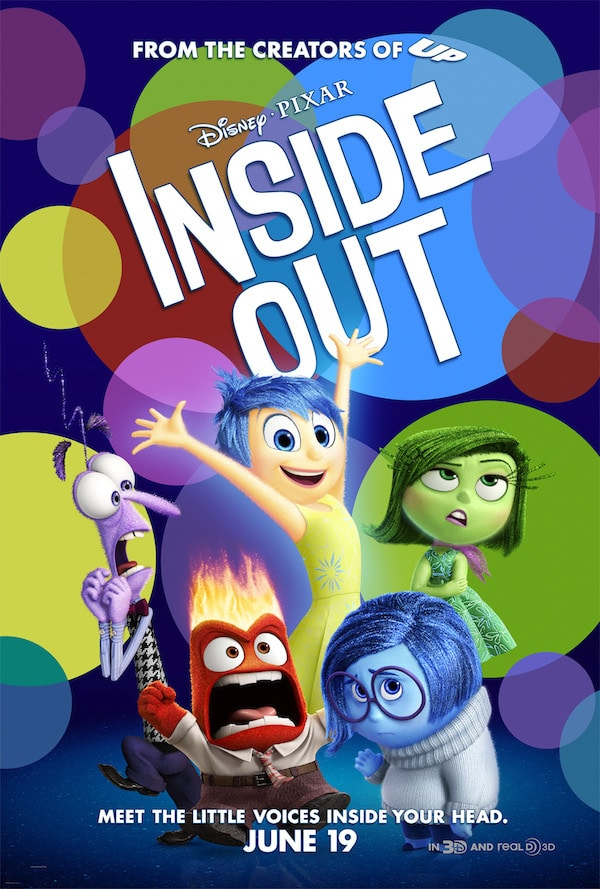 Inside Out movie poster