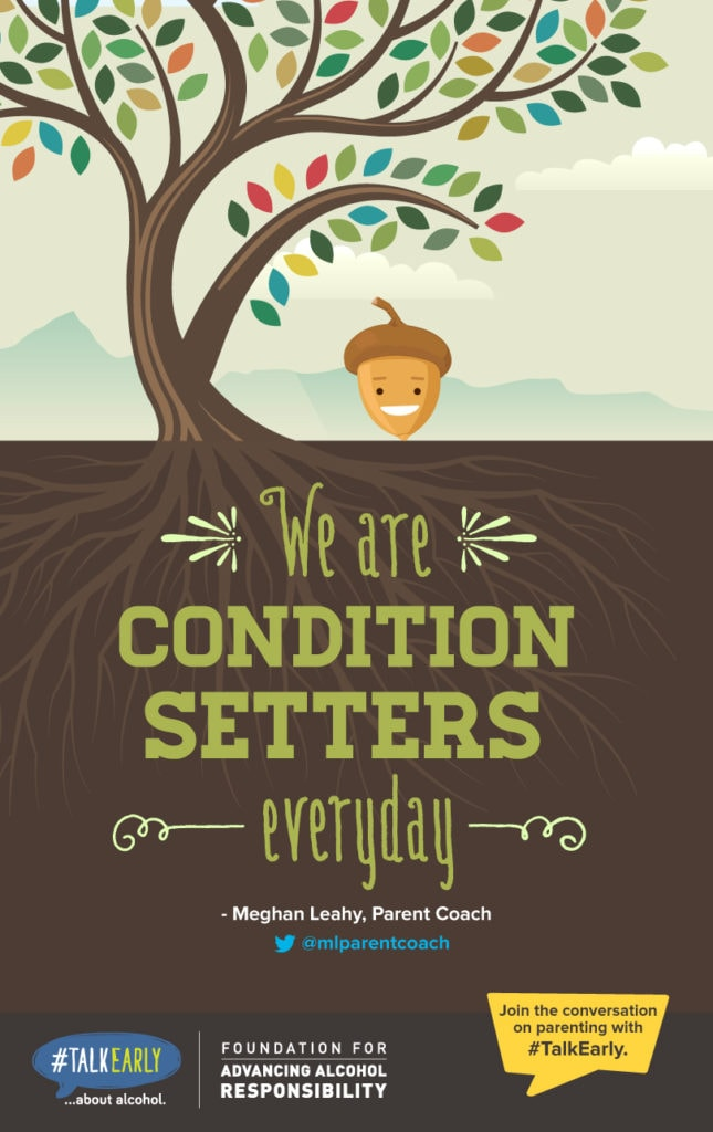 We are condition setters. #TalkEarly