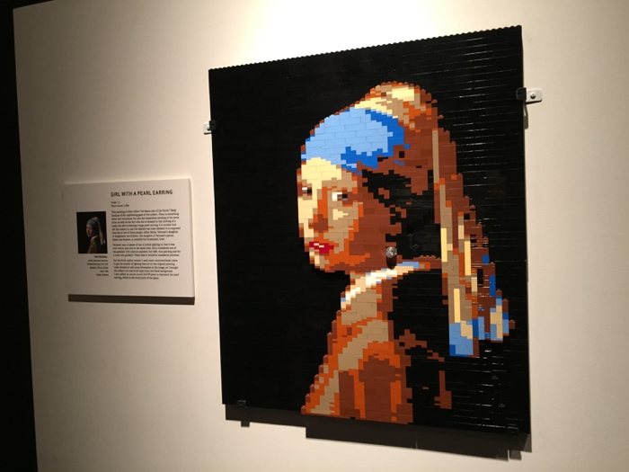 The Girl with the Pearl Earring - LEGO