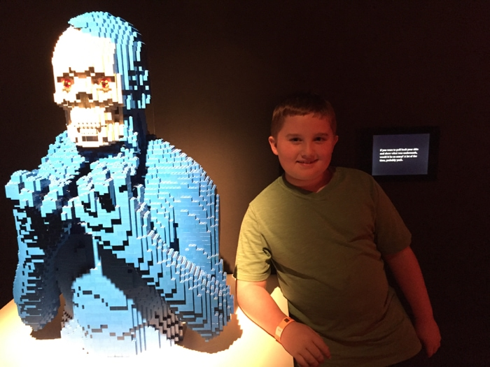 Evan and the LEGO dark side