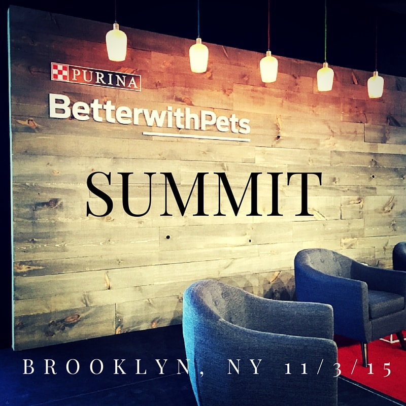 Purina 2015 Better With Pets Summit