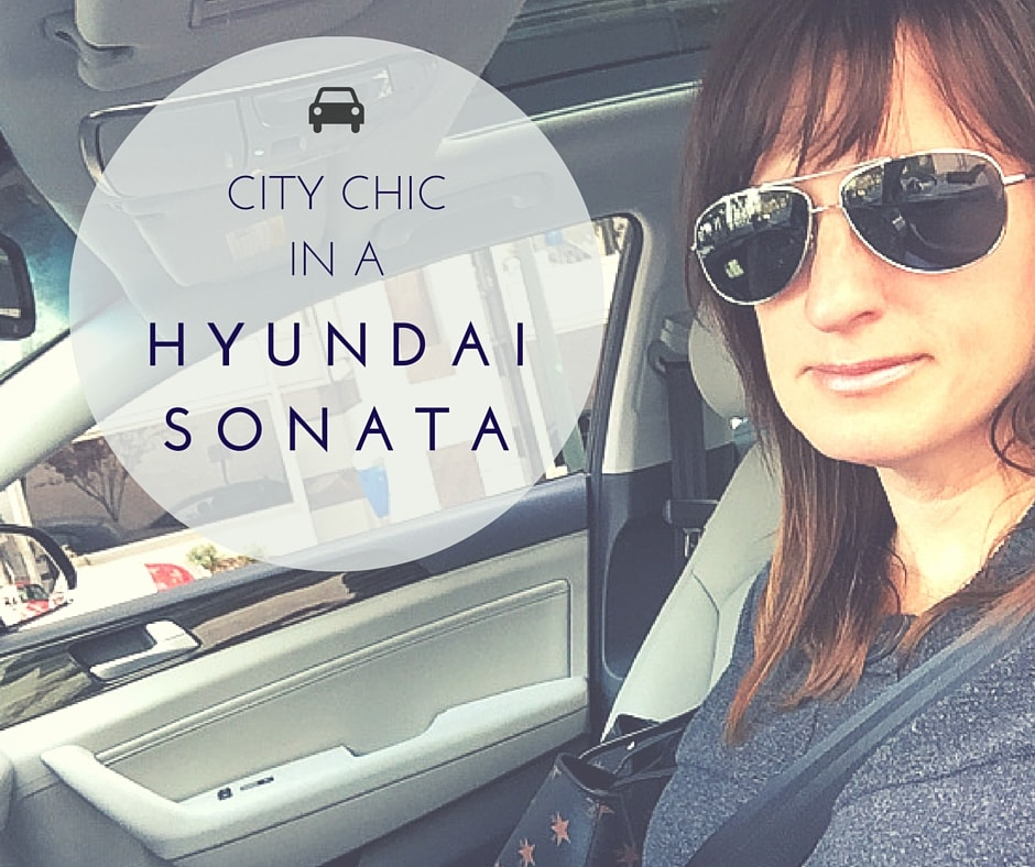 City Chic in a 2016 Hyundai Sonata Hybrid Limited