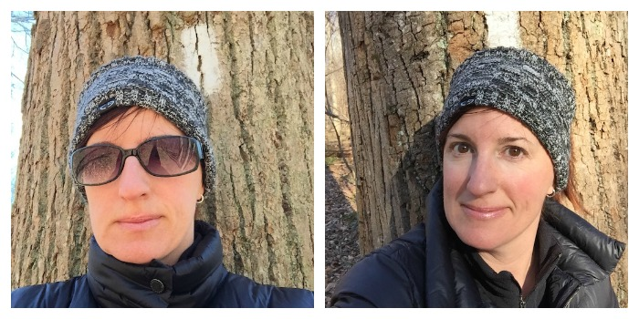 Hiking - before and after