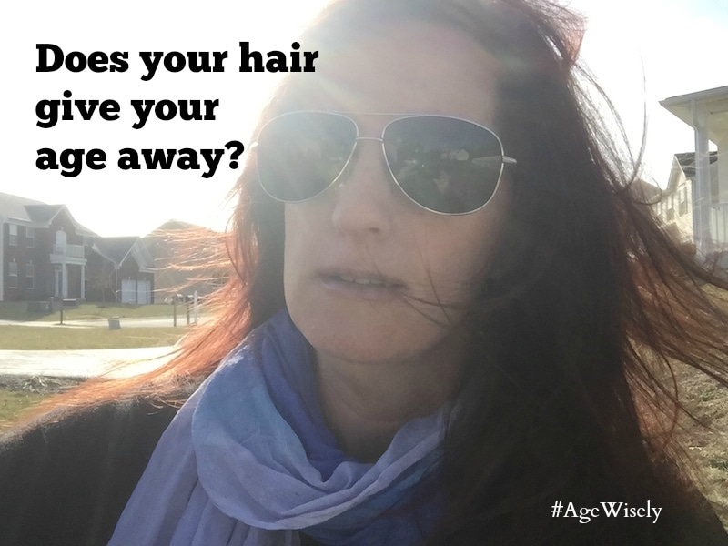 Does your hair give your age away