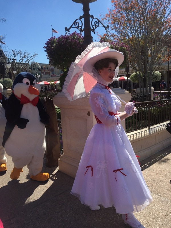 Mary Poppins at the Magic Kingdom