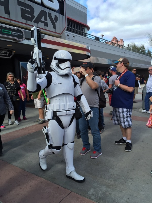 Stormtrooper at Hollywood Studios