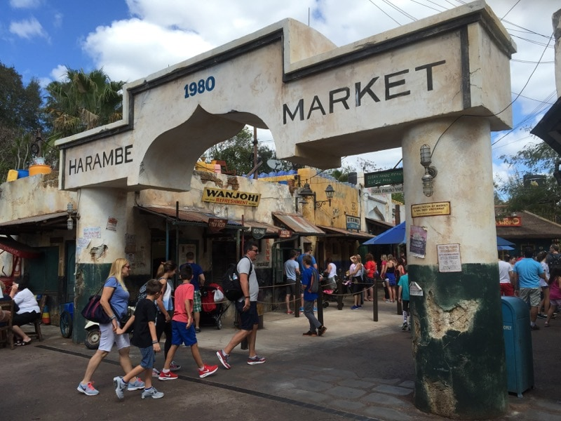 Harambe Market at Animal Kingdom