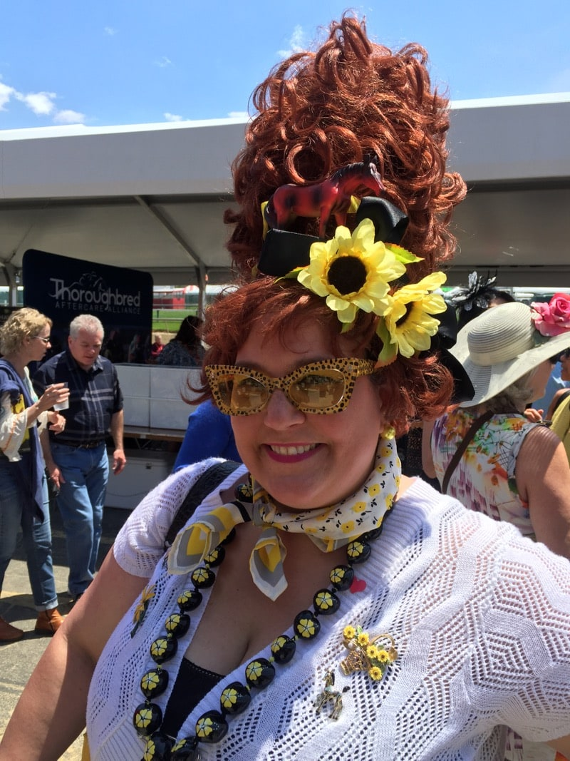 Hon hair at preakness