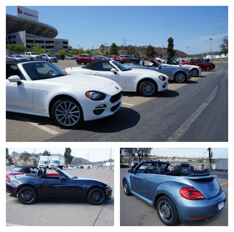 Competition for the Fiat 124 Spider