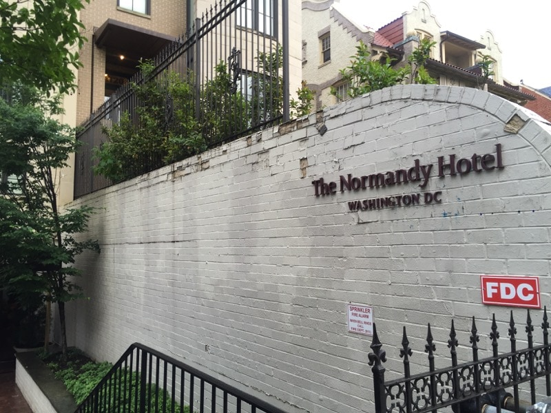 Normandy Hotel DC