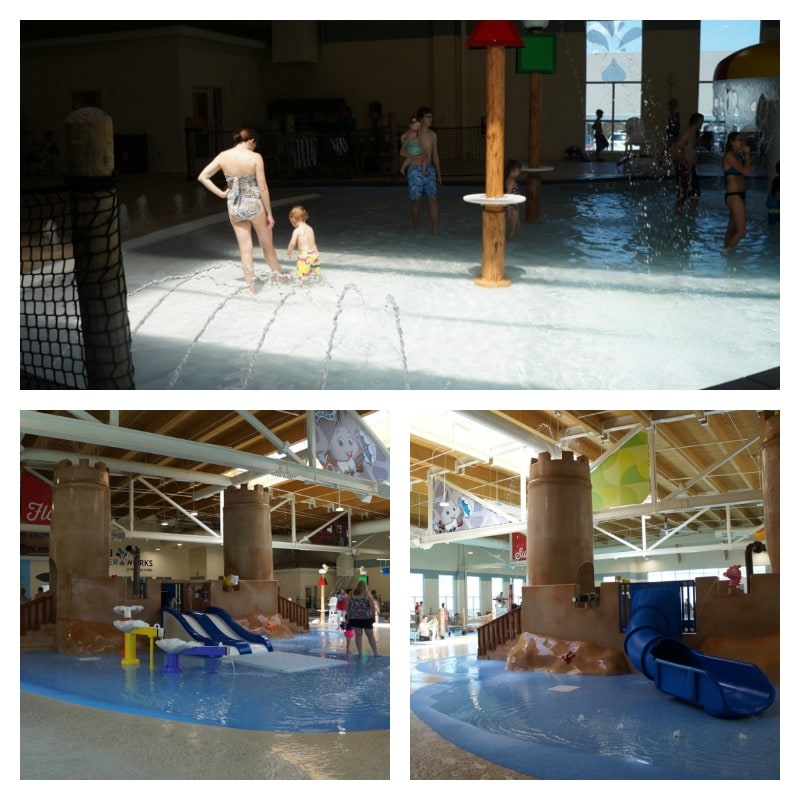 Hershey's Water Works - splash areas for young kids