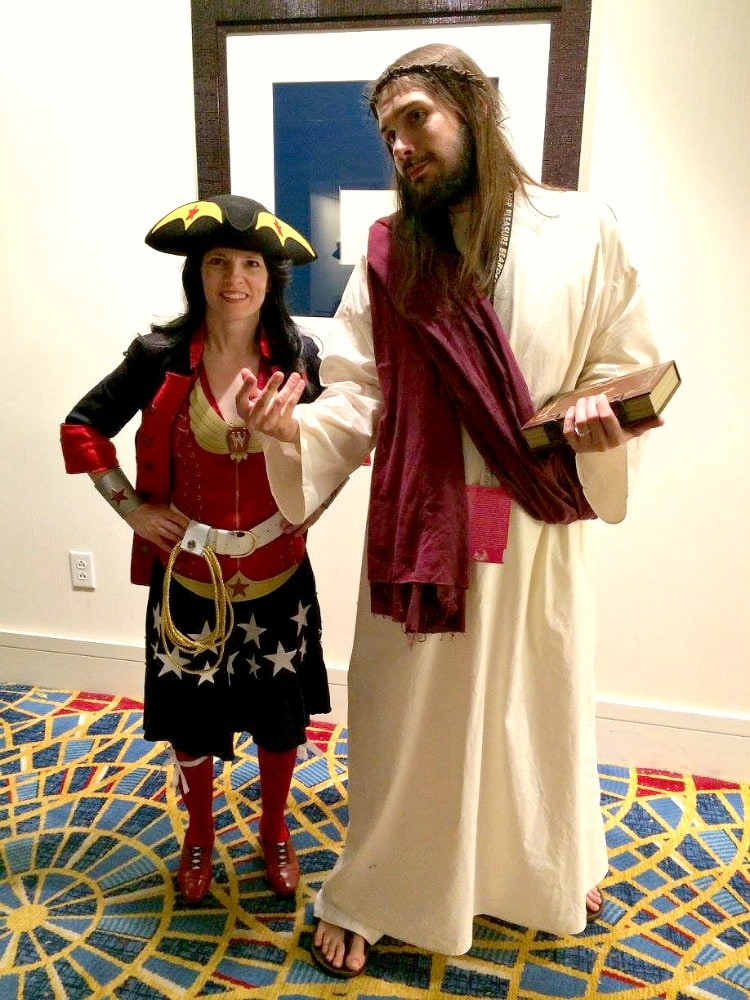 When Wonder Woman met Jesus