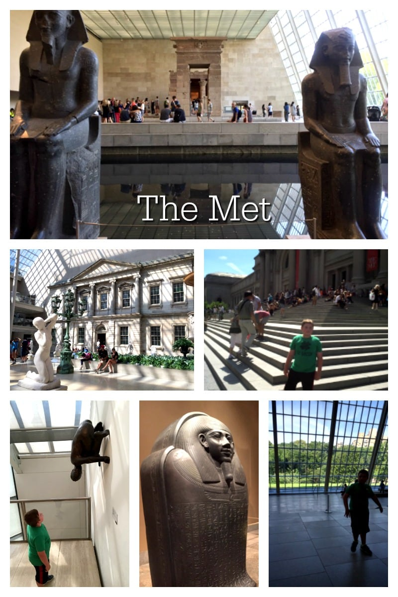 Afternoon at The Met