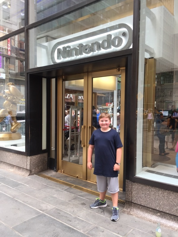 Visiting the only Nintendo Store in the world!