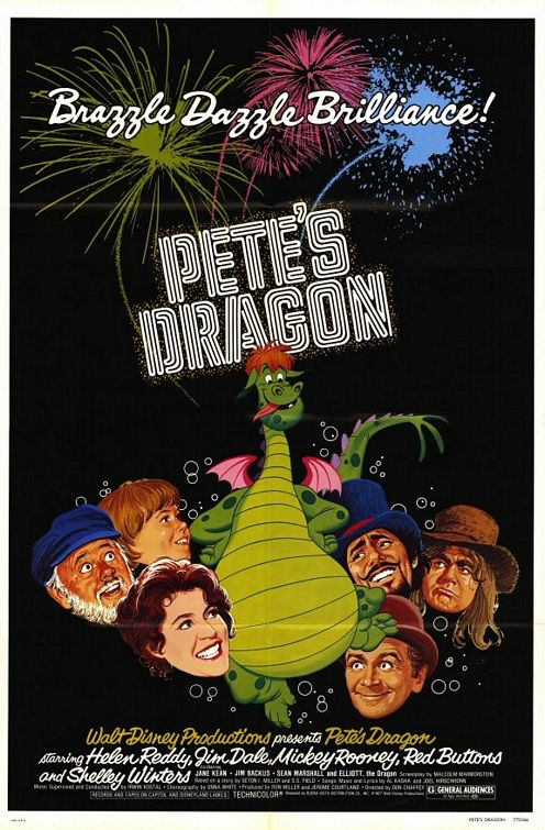 1977 Pete's Dragon movie