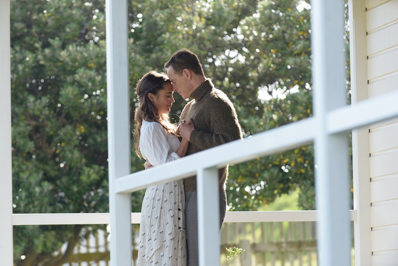 THE LIGHT BETWEEN OCEANS love story