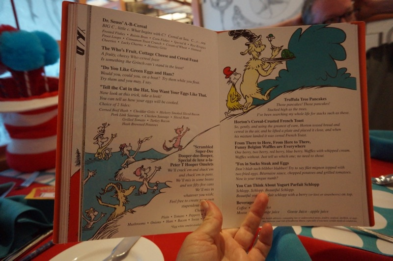 Cat in the Hat Character Breakfast - Carnival Pride