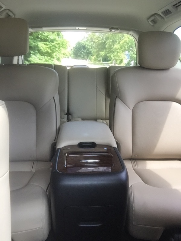 Plenty of room in the rear of the 2017 Nissan Armada
