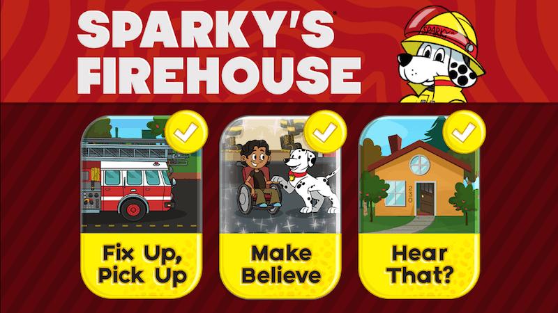 Sparky's Firehouse App