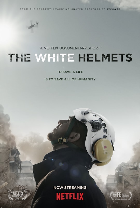 The White Helmets documentary on Netflix