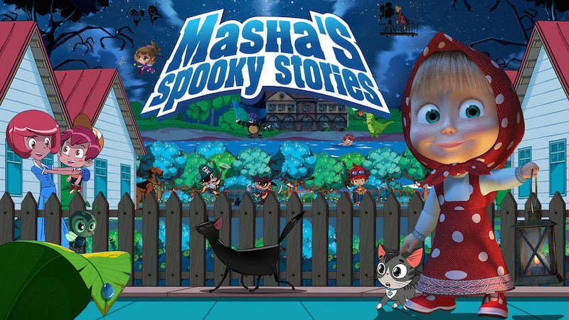 masha's spooky stories