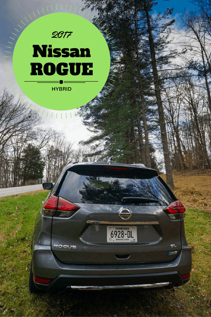 First look at the 2017 Nissan Rogue Hybrid