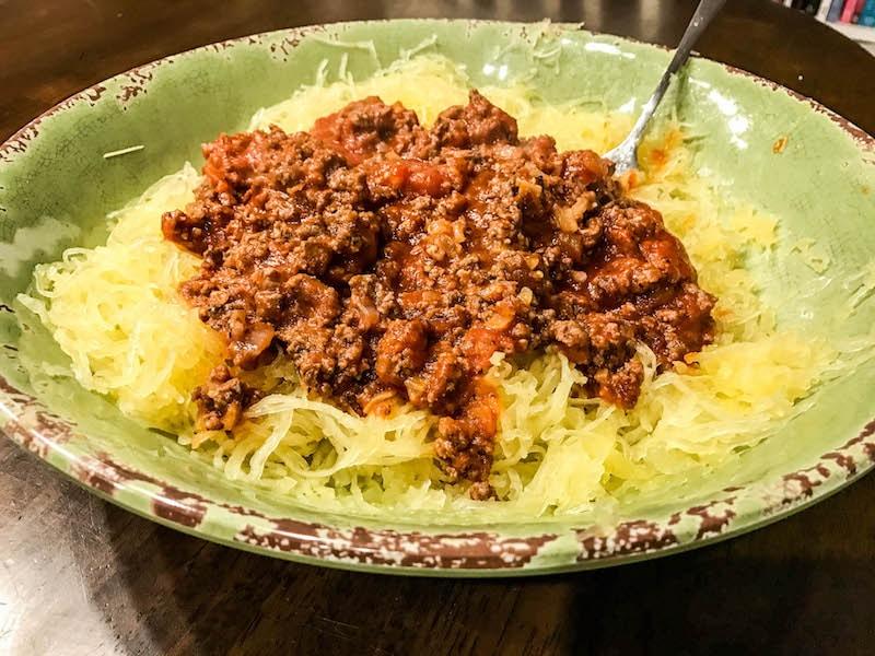 Whole30 spaghetti squash