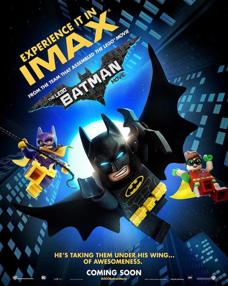 LEGO Batman movie poster