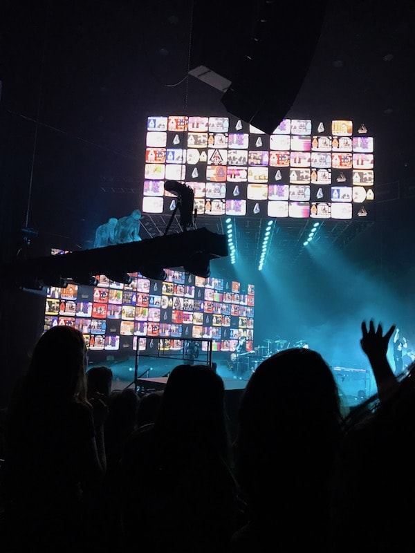 Bastille backdrop