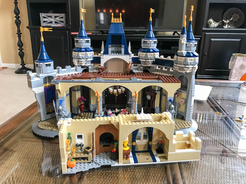 LEGO Disney Castle - Bag 10 rear