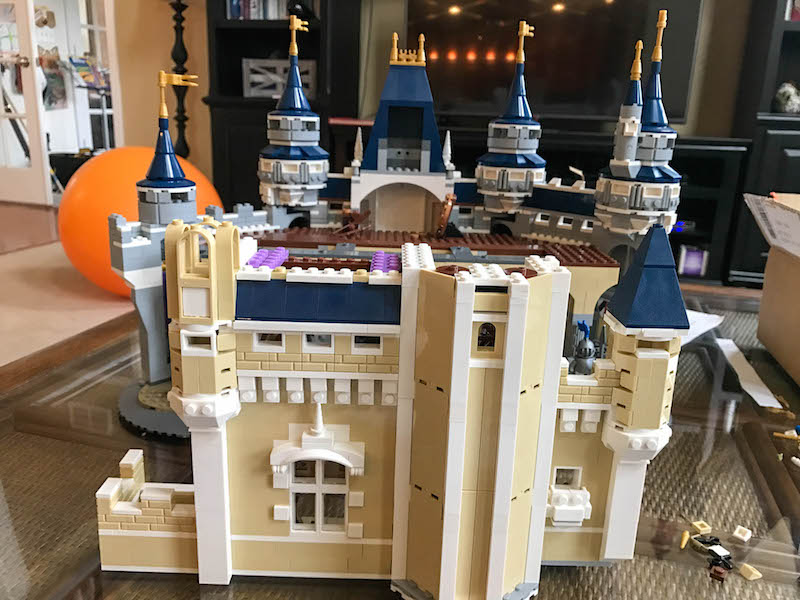 LEGO Disney Castle - Bag 11 front