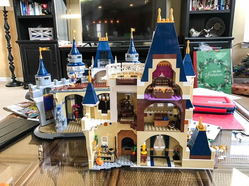 LEGO Disney Castle - Bag 12 rear
