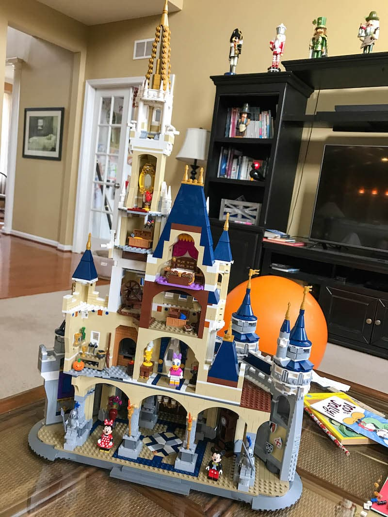 LEGO Disney Castle - Bag 14 rear