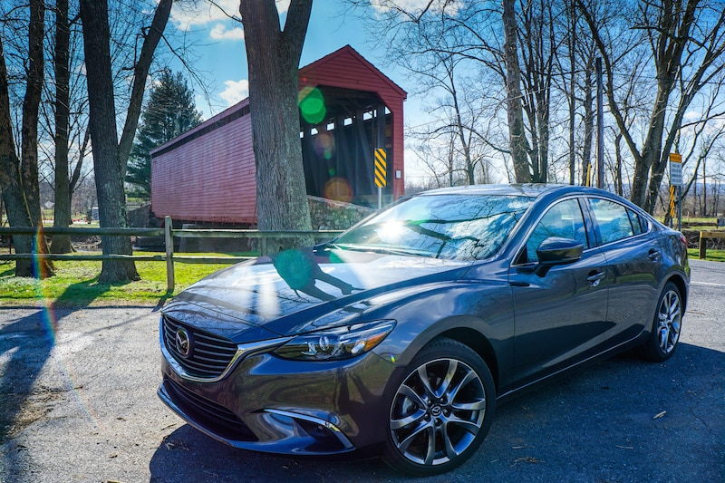 Loys Covered Bridge - Mazda6
