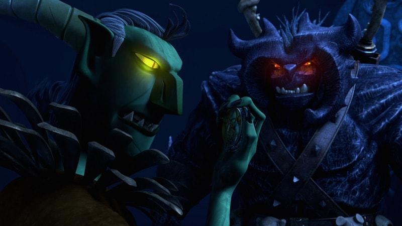 Strickler and Bular in Trollhunters
