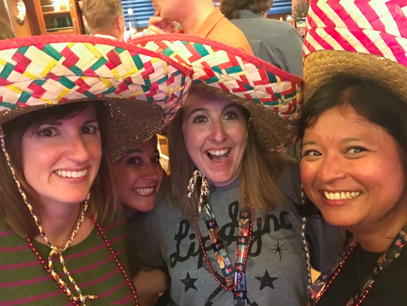 Cinco de Mayo with friends - Carnival Vista