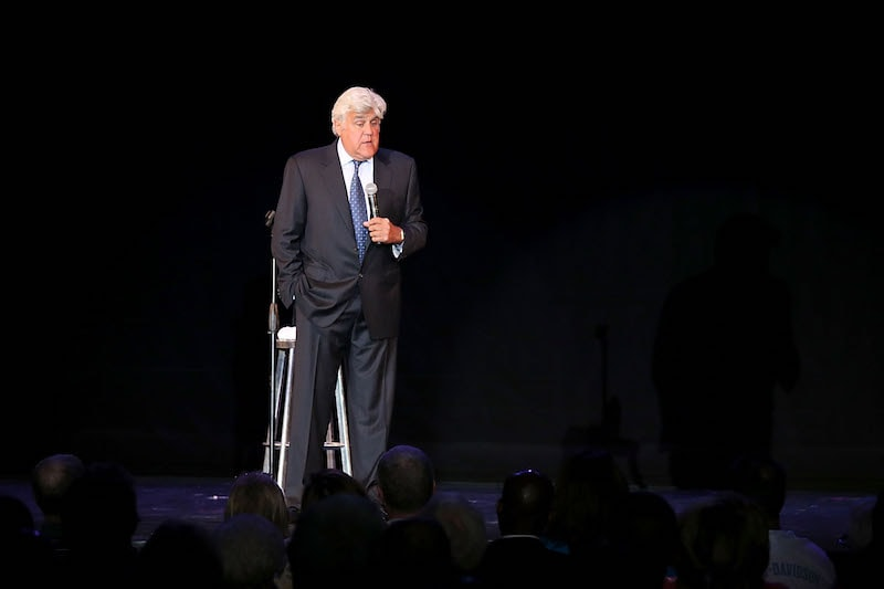 Jay Leno Performs Live On Carnival Cruise Ship Vista
