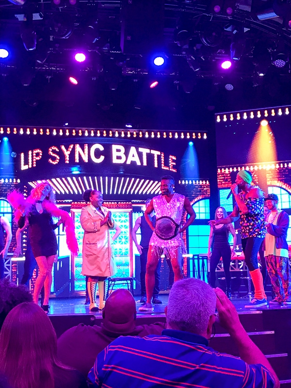 Lip Sync Battle winner - Carnival Vista