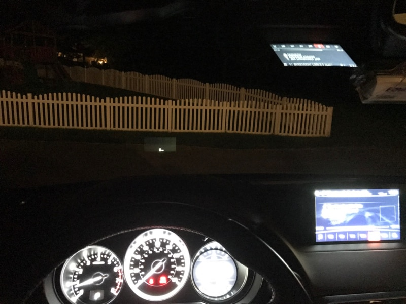 Mazda CX-9 night display