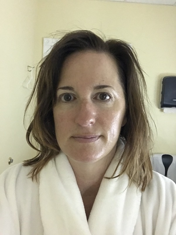 After the facial - Darrell Barrett Salon and Spa